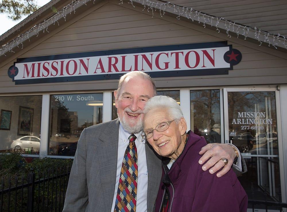 Donors at Mission Arlington